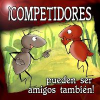 Competidores pueden ser amigos también