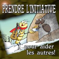 PRENDRE L'INITIATIVE POUR AIDER LES AUTRES