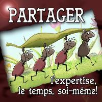 PARTAGER L'EXPERTISE, LE TEMPS, SOI-MÊME!