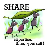 Share Time, Expertise, Yourself!