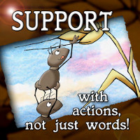 Support with Actions Not Just Words