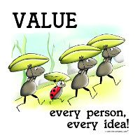 Value Every Person, Every Idea!